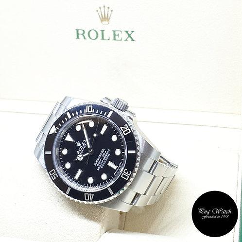 Rolex Oyster Perpetual Steel Ceramic No Date Black Submariner REF: 114060 (2012)