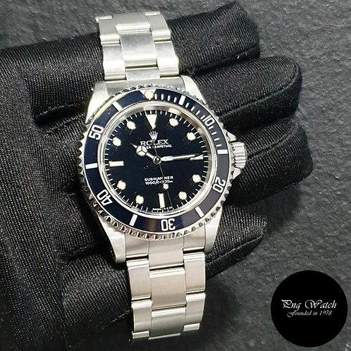 Rolex Oyster Perpetual Tritium 2 Liner No Date Black Submariner REF: 14060 (2)