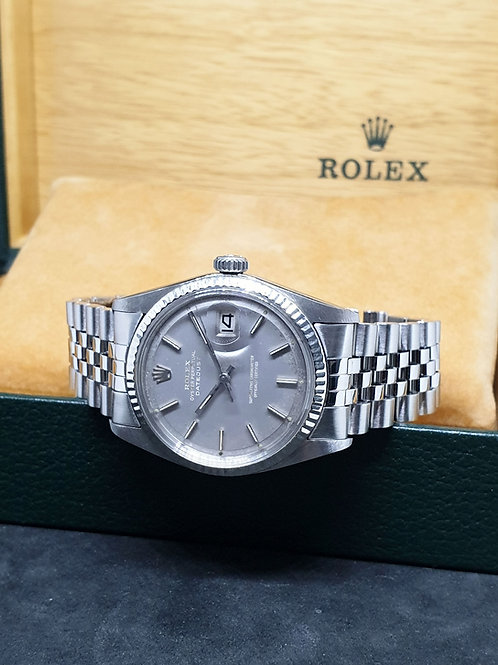"""Rolex Oyster Perpetual """"Ghost"""" Grey Datejust REF: 1601"""