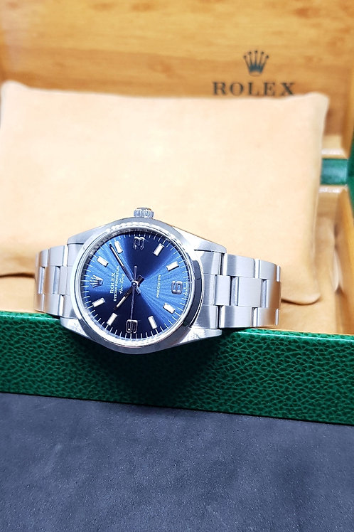 Rolex Oyster Perpetual Blue Air King REF: 14000