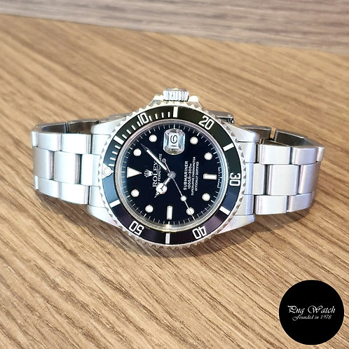 Rolex Oyster Perpetual Date Steel Submariner REF: 168000 (2)