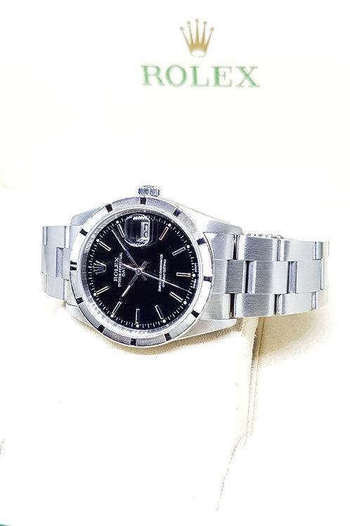Rolex Oyster Perpetual Black Date REF: 15210