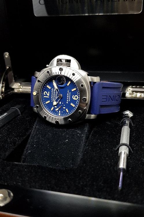 "Panerai Blue Tritium ""La Bomba"" Submersible PAM 87 (E)"