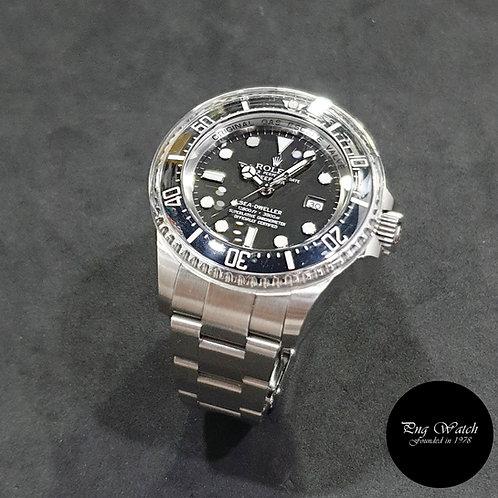 "Rolex Oyster Perpetual Black Sea Dweller ""DEEPSEA"" REF: 116660 (11)(2)"