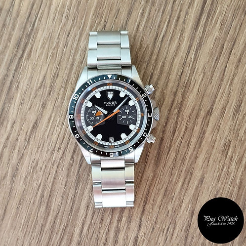 "Tudor Black Heritage Chronograph ""Monte Carlo"" REF: 70330N (2)"