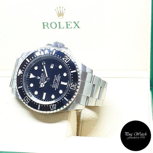 Rolex Oyster Perpetual Ceramic Date Black Sea Dweller DEEPSEA REF: 116660 (2016)