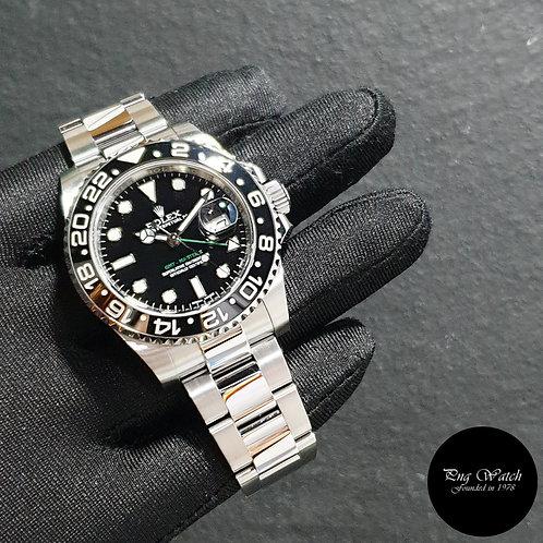 Rolex Oyster Perpetual Ceramic Black GMT Master 2 REF: 116710LN (16)(2)