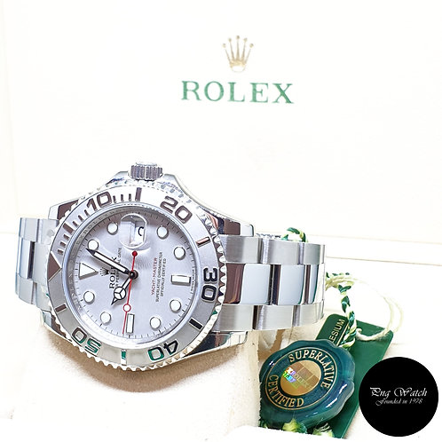Rolex Oyster Perpetual Platinium 40mm Yachtmaster REF: 16622 (V Series)