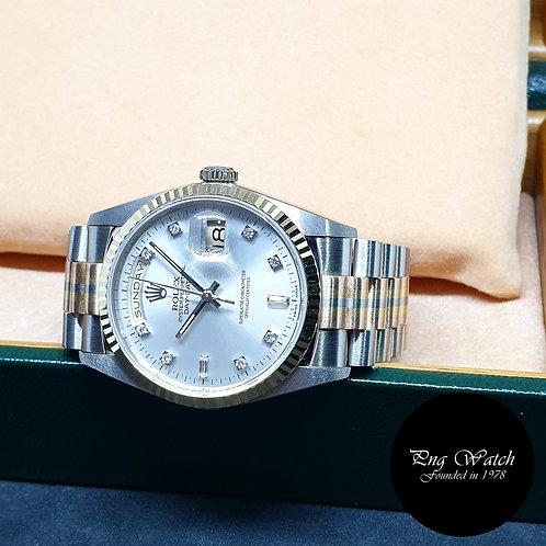 "Rolex 18K Full Gold""Tridor"" Oyster Perpetual Day-Date REF: 18239B"