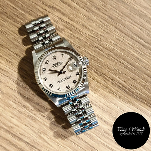 Rolex Oyster Perpetual 31mm Ivory Computer Datejust REF: 78274 (2)