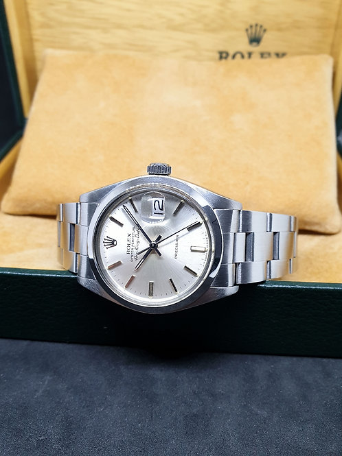 Rolex Oyster Perpetual Silver Air-King Date REF: 5700