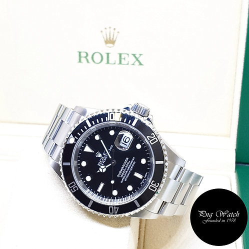 Rolex Oyster Perpetual 40mm Steel Submariner Date REF: 16610 (2005)