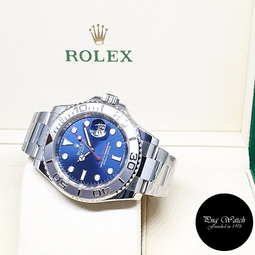 Rolex Oyster Perpetual Blue Yachtmaster REF: 116622 (AN Series)