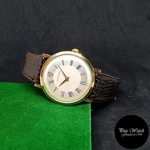 Vintage 1970s Longines Admiral 10K Gold Filled Watch REF: 1200
