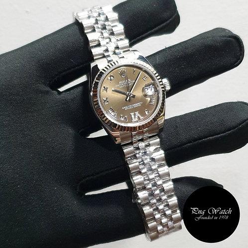 Rolex 31mm Bronze Diamonds VI Datejust REF: 178274 (2)