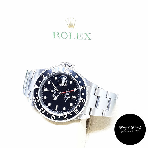 Rolex Oyster Perpetual Black GMT Master 2 REF: 16710 (2003)