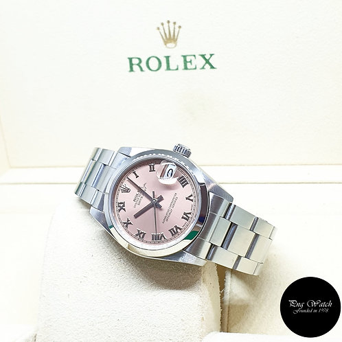 Rolex 31mm Pink Salmon Oyster Perpetual Datejust  REF: 68240 (T Series)