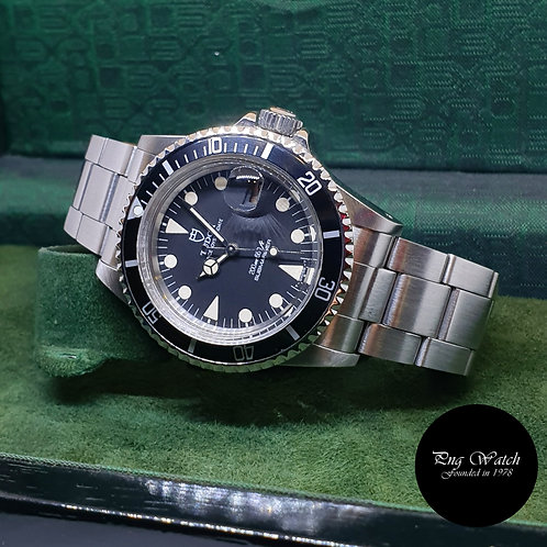 Tudor Oysterdate Matte Black Submariner REF: 76100