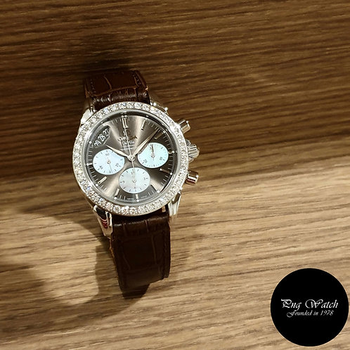 Omega Brown Deville Co-Axial Chronograph Watch REF: 4877.60.37 (2)