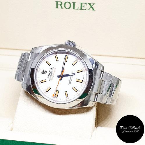 Rolex Oyster Perpetual Milgauss REF: 116400 (M Series)