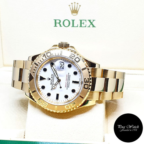 Rolex 18K Yellow Gold Yachtmaster REF: 16628