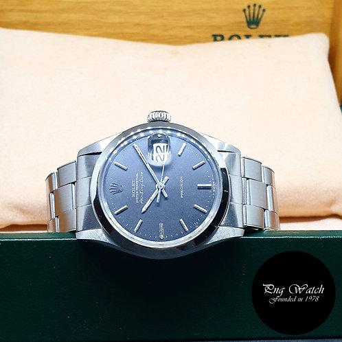 Rolex Oyster Perpetual Matte Black Air-King Date REF: 5700