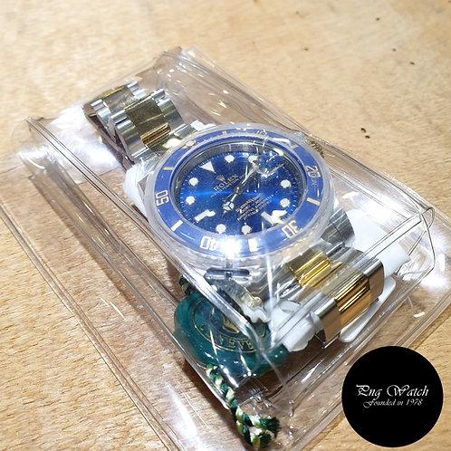 Rolex OP 18K Half Gold Blue Ceramic Submariner Date REF: 116613LB (2)