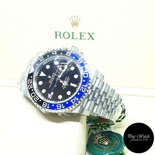 "Rolex Oyster Perpetual ""BATGIRL"" GMT Master 2 REF: 126710BLNR"
