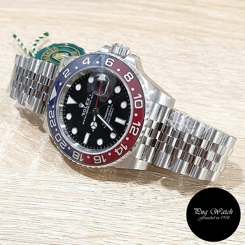"""Rolex Oyster Perpetual """"PEPSI"""" Jubilee GMT Master 2 REF: 126710BLRO (2)"""