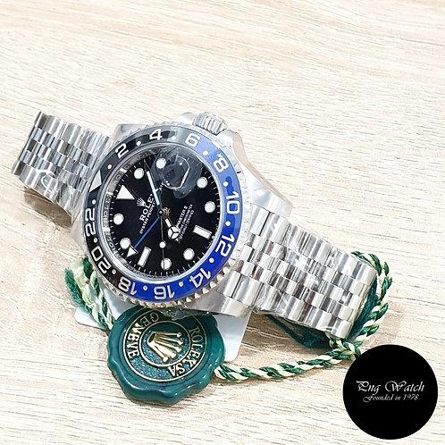 "Rolex Oyster ""BATGIRL"" GMT Master 2 REF: 126710BLNR (2)"