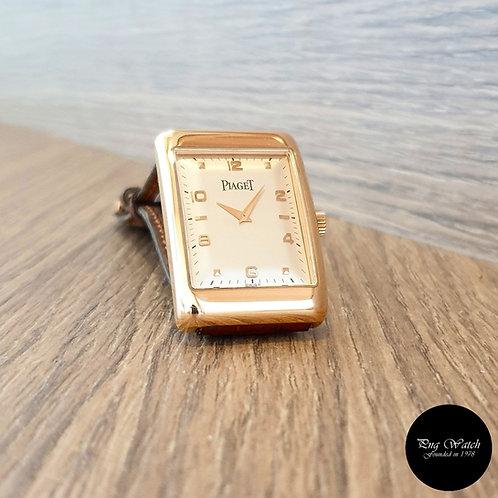 Classic Vintage Piaget 18K Rose Gold Manual Winding Wristwatch REF: 9952 (2)