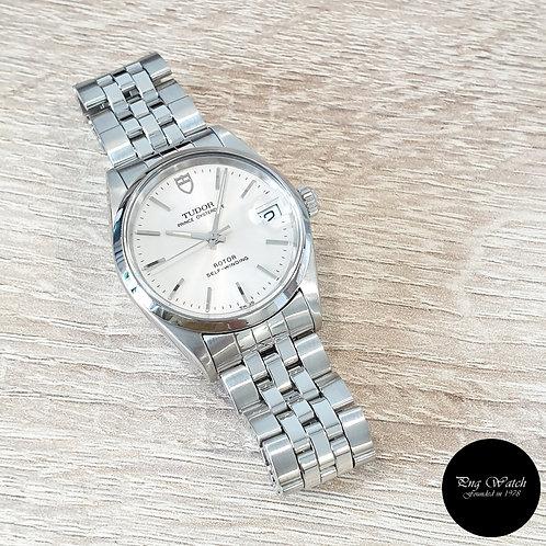 Tudor Silver Prince Oysterdate Dress Watch REF: 72000 (By Rolex)(2)