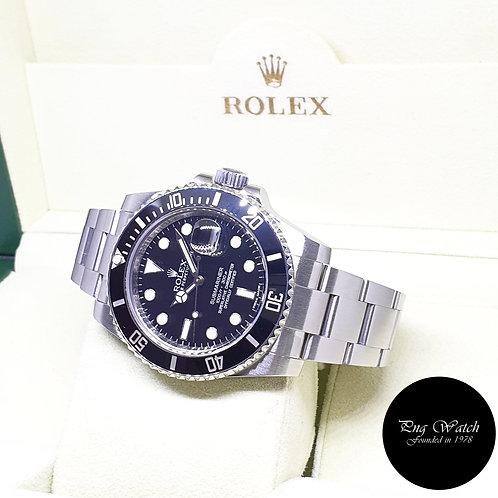 Rolex Oyster Perpetual Ceramic Black Steel Submariner Date REF: 116610LN (G)