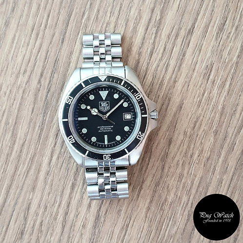 Vintage Tag Heuer 200M  Professional Automatic Diver REF: 844/5 (2)