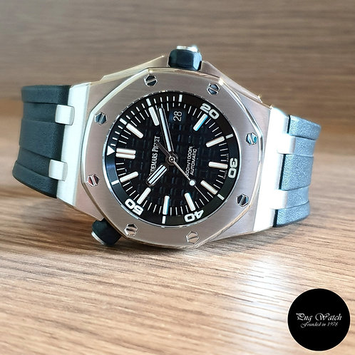 Audemars Piguet Royal Oak Offshore Black Diver REF: 15703ST (2)