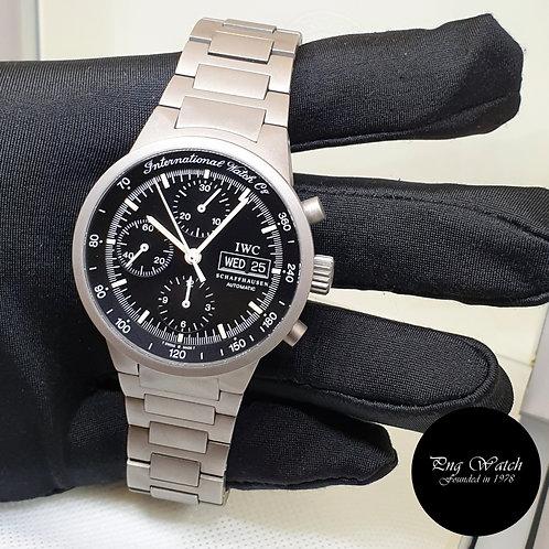 IWC  Tritium 40mm Black Titanium GST Chronograph Watch REF: 3707 (2)