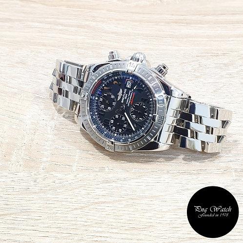 Breitling Black Chronomat Evolution Chronograph Watch REF: A13356 (2)