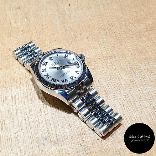 Rolex Oyster Perpetual 31mm Rhodium Datejust REF: 178274 (2)