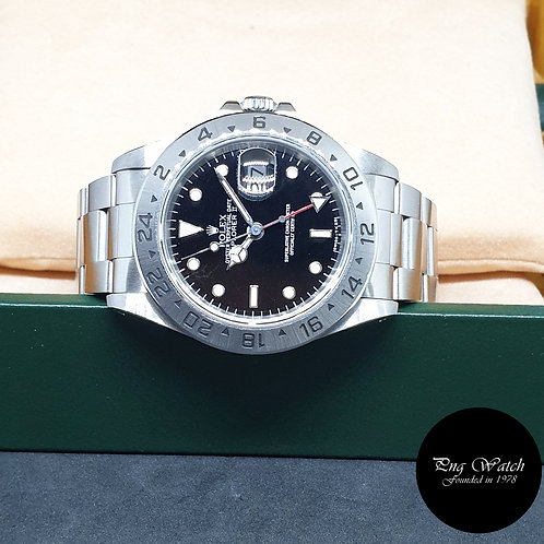 Rolex Oyster Perpetual Tritium Black Explorer 2 REF: 16570