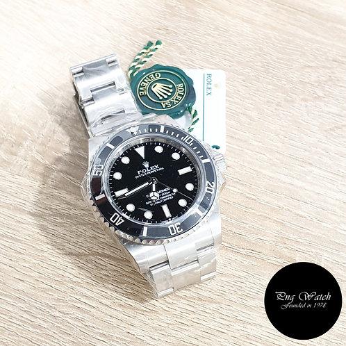 Rolex Oyster Perpetual Ceramic 41mm No Date Black Submariner REF: 124060 (2)