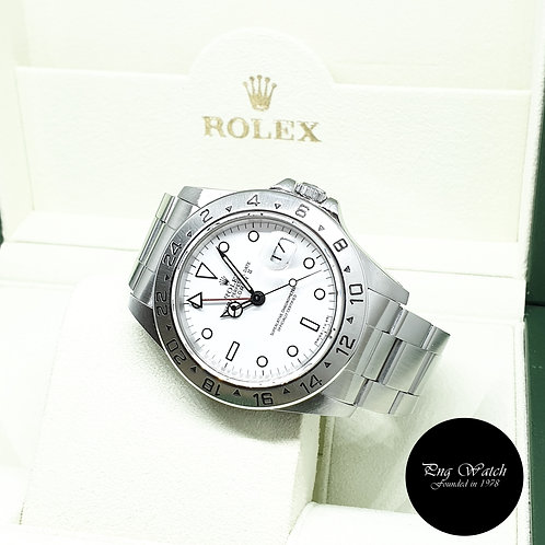 "Rolex Oyster Perpetual 40mm Tritium ""POLAR"" Explorer 2 REF: 16570 (N Series)"