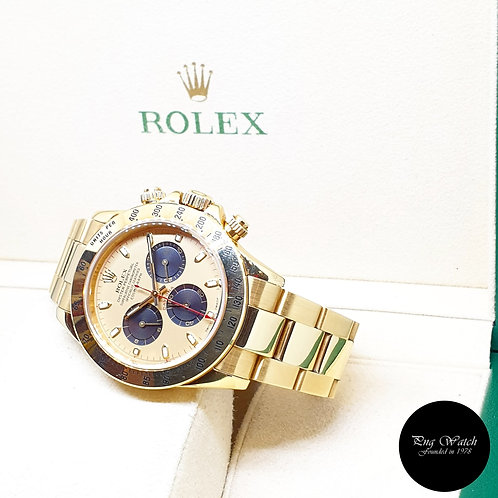 "Rolex Oyster Perpetual 18K Yellow Gold ""Paul Newman"" Daytona  REF: 116528"
