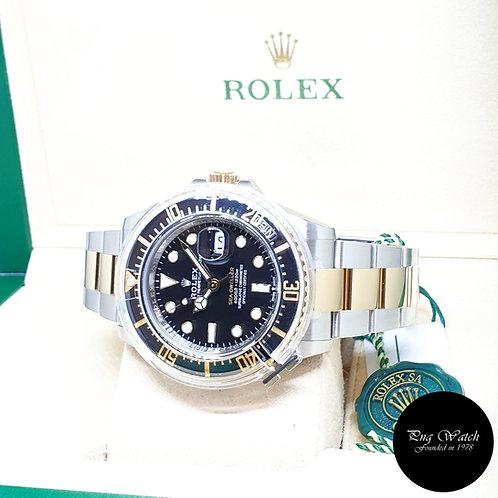 Rolex Oyster Perpetual 18K Half Gold  43mm Black Sea Dweller REF: 126603 (AN)