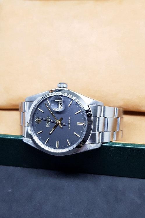 Rolex Matte Black Oysterdate REF: 6694