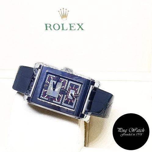 Rolex 18K White Gold Manual Winding Prince Cellini REF: 5443/9