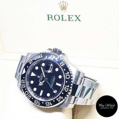Rolex Oyster Perpetual Black Ceramic GMT Master 2 REF: 116710LN