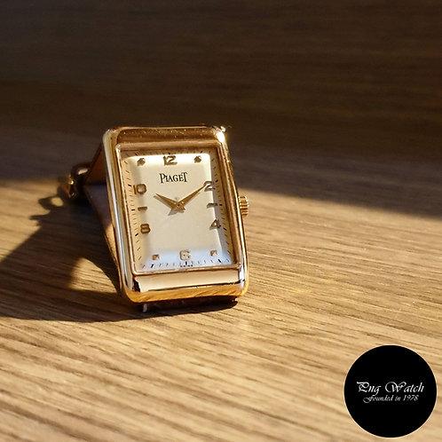 Classic Vintage Piaget 18K Rose Gold Manual Winding Watch REF: 9952 (2)