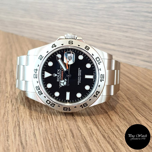 Rolex Oyster Perpetual 42mm Black Explorer 2 REF: 216570 (2)