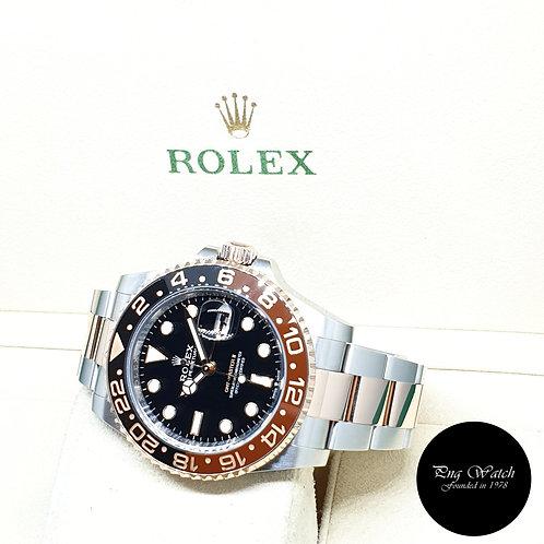 "Rolex 18K Half Rose Gold ""ROOTBEER"" GMT Master 2 REF: 126711CHNR (2020)"