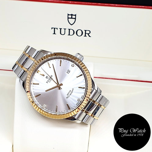 Tudor 41mm Style Diamonds Dress Watch REF: 12713